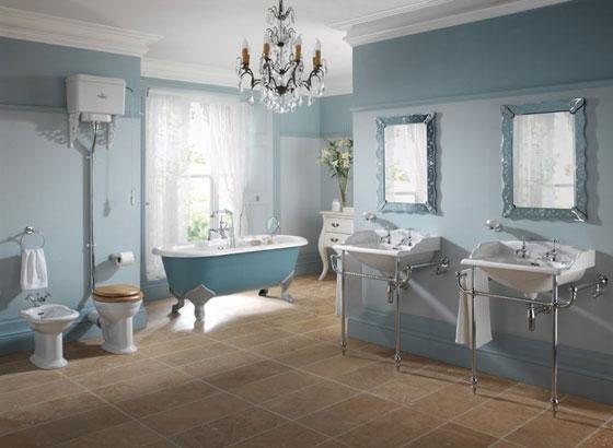 Badkamer Gordijnen Ideeën : Victorian Bathroom Ideas