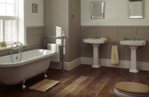 Landelijke badkamers: oases van rust