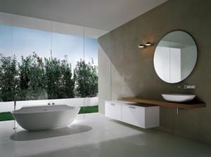 Modern interieur badkamer